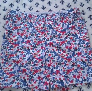 Land's End Bright Floral Shorts